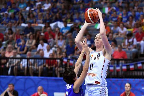 Eurobasket f minin la joie des belges qualifi es pour la coupe du monde basket europe - Coupe d europe de basket feminin ...