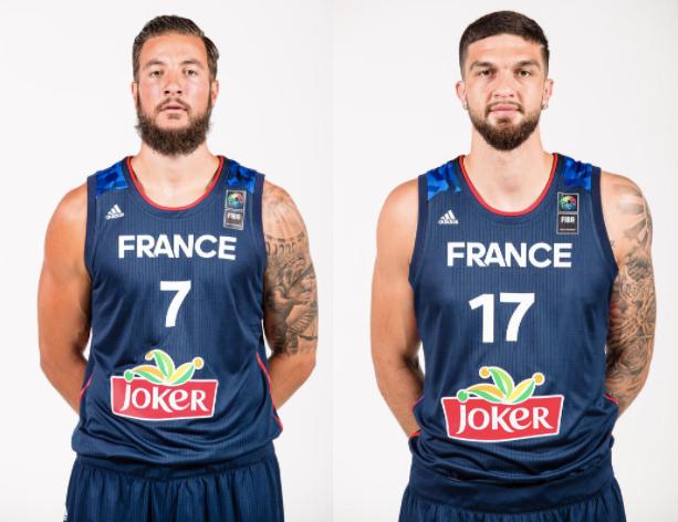 Mathias Lessort appelé; Joffrey Lauvergne et Vincent Poirier mis au repos — Eurobasket