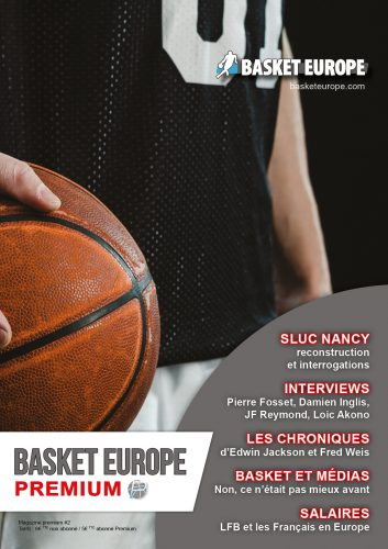 Commandez le magazine Basket Europe N°2 | Basket Europe
