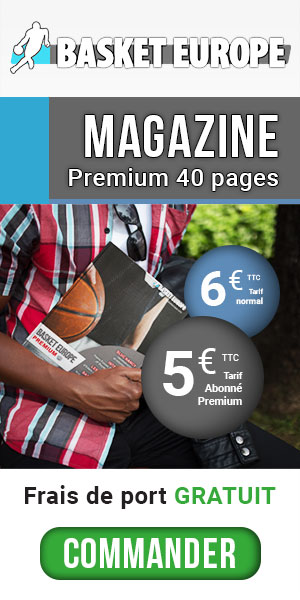 Commandez le magazine papier Basket Europe