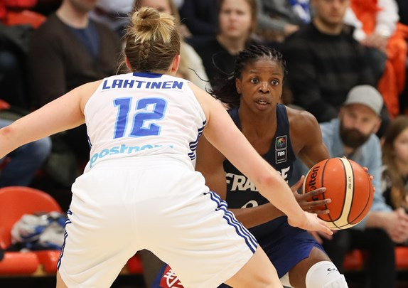 Qualifications euro f minin 2019 les bleues ont mis les finlandaises au supplice 50 - Coupe d europe basket feminin ...