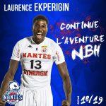 Pro B: Nantes a fait resigner Laurence Ekperigin