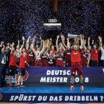 Allemagne: Le Bayern est champion et jouera l'Euroleague