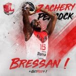 Bourg: MVP de la saison, Zachery Peacock prolonge jusqu'en 2020