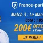 Finale Jeep® ÉLITE : les paris du jour avec Fred Weis et France Pari