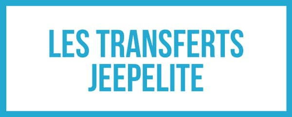 Tous les transfert JeepElite pour la saison 2018 - 2019