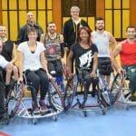 Vidéo: Quand Céline Dumerc s'exerce au basket fauteuil
