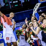 Mondial U17 féminin: La France en argent après avoir pris de plein fouet le TGV américain en finale, 40-92