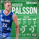 L'Islandais Haukur Palson passe de Cholet à Nanterre