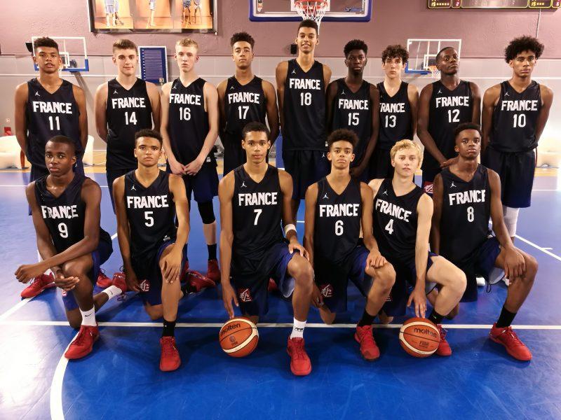 U15 3 3 Pour L Equipe De France Au Tournoi De L Amitie Basket Europe