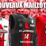 Ligue Féminine: Les nouveaux maillots tout feu tout flamme de Charleville
