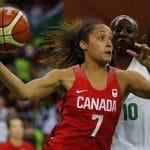 Nayo Raincock-Ekunwe, la MVP de la Ligue Féminine que les Bleues vont retrouver avec le Canada