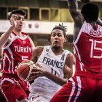 Euro U16: Pas de médaille pour la France dominée par la Turquie, 59-82