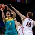 Coupe du monde Féminine: L'Australie avec 5 anciennes joueuses de la LFB et sa star Liz Cambage