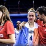 Arnaud Guppillotte (coach des U17 féminines): «A leur trial en mars, les Américains ont 280 joueusespour faire une sélection de 12. Alors que moi quand je fais une détection large, j'ai 24 joueuses»