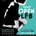 Le MAIF Open LFB dévoile son affiche