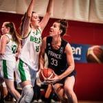 Euro U18 féminine: Après sa large victoire sur l'Irlande (+23), la France va affronter la Bosnie en 8e de finale