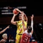 Coupe du monde féminine: 24 points à 100% aux shoots pour l'Australienne Liz Cambage en 12 minutes!