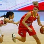 Coupe du monde féminine: Laia Palau, Cristina Ouvina et Queralt Casas avec les 12 Espagnoles