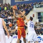 Le Mans: Richard Hendrix avec l'équipe de Macédoine pour les qualifications à l'Euro