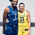 Alysha Clark et Sami Whitcomb, deux joueuses de Ligue Féminine en finale WNBA