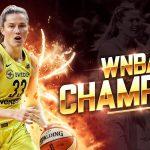 WNBA: Le titre pour Seattle, Alysha Clark (ASVEL), Kaleena Mosqueda-Lewis (Charleville) et Sami Whitcomb (Lattes-Montpellier)