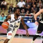 Vidéo : avec 20 points et 10 passes, David Holston a mis le feu au Palais des Sports de Dijon