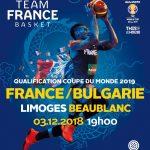 Equipe de France : billetterie ouverte pour le match du 3 décembre à Limoges face à la Bulgarie