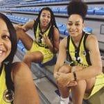 Vidéo: Les premiers points de Bria Hartley avec le Fenerbahçe