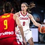 """Kim Gaucher (Mondeville): """"Au Canada, on n'a pas d'argent pour les sportifs sauf pour le hockey"""""""