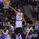 """Kevin Harley (Poitiers), vainqueur du concours de dunk : """"Cette ambiance nous porte"""""""