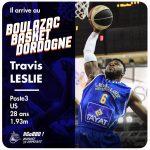 Boulazac fait venir Travis Leslie (ex-Levallois)