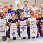La photo – Les capitaines des 12 équipes de la Ligue Féminine
