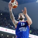 Turquie: 27 points pour Adrien Moerman (Anadolu Efes) contre Tofas Bursa
