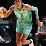 WNBA: Bria Hartley a joué la nuit dernière avec le New York Liberty