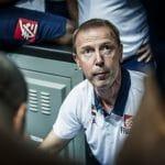 """Vincent Collet (sélectionneur Equipe de France) : """"Le public de Limoges va nous aider à gagner le match face à la Bulgarie"""""""