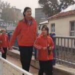 Chine: Une basketteuse de 2,10m à… 11 ans !