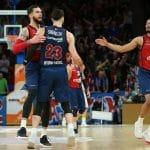 Récap Euroleague : Vincent Poirier fait tomber le CSKA