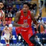 Euroleague : après 80 matchs de suite, Will Clyburn (CSKA Moscou) est forfait une semaine