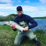 L'Islandais Haukur Palsson (Nanterre) parle de son amour de la pêche