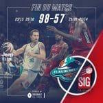 Strasbourg: -41 à Pau. Le pire match de la SIG de l'ère Vincent Collet