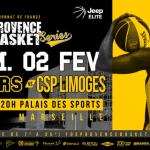 Fos-sur-Mer veut battre son record de spectateurs à Marseille pour la venue de Limoges