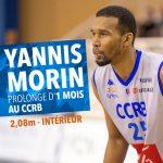 Châlons-Reims prolonge d'un mois la pige de Yannis Morin