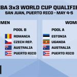 3×3: L'équipe de France ira chercher à Porto Rico son billet pour la Coupe du monde