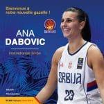 LFB: Meilleure joueuse de l'Euro 2015, la Serbe Ana Dabovic signe à Lattes-Montpellier