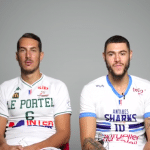 Vidéo: Un-contre-un Benoit Mangin (Le Portel)-Isaia Cordinier (Antibes)