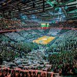 La photo et les vidéos: L'impressionnante ambiance à la Zalgiris Arena de Kaunas