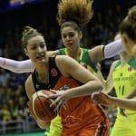 Quarts-de-finale Euroleague féminine: Bourges loupe d'un cheveu l'exploit à Sopron, 66-65