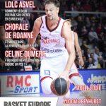 S'abonner à BasketEurope et recevoir le magazine n°14 avec l'ASVEL, Strasbourg, Céline Dumerc, etc