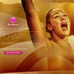 Euroleague féminine: Alexia Chartereau (Bourges) élue Jeune Joueuse de l'Année 2019 par les fans européens